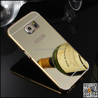 For samsung S6 acrylic mirror plate, for samsung s6 back housing,cell phone housing for samsung s6