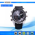 720*480 HD 30 fps World's Best Video Quality Portable DV IR night vision watch camera ,support 10 Pieces (Min. Order)