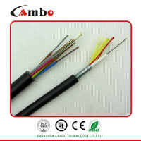 High quality 24 core adss single mode fiber optic cable and best price