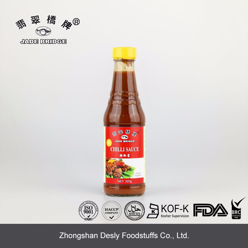 Popular Halal Extra Hot Chilli Sauce 320g For Family Cooking