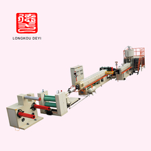 plastic foaming extruder PS foam sheet production line
