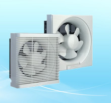 Plastic blade household bathroom exhaust fan 8/10/12 inch with cover