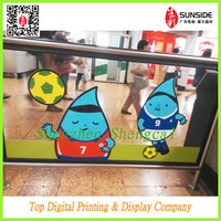 vivid color smart film for glass sticker