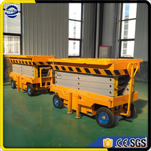 2017 new type mobile aerial work platform,scissor lift china for sale
