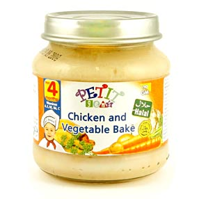 Halal Baby Food - Chicken & Vegetable Bake