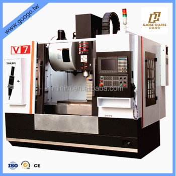 V7 line guide 3 axis cnc vertical machining center