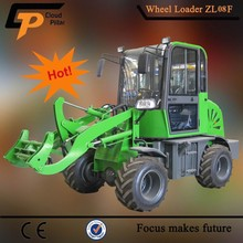 China Made Bucket Loader ZL08A with V-Snow Blade for Winter