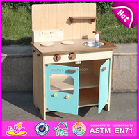 2016 popular child wooden modern kitchen toy,fashion child wooden modern kitchen toy, best sale modern kitchen toy WJ27906