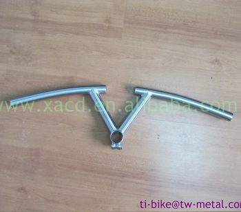 Titanium handle bar special design TT handle bar racing handle bar