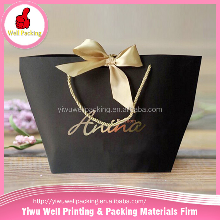 Custom low cost gift paper bag,paper shopping bag with logo print latest products in market