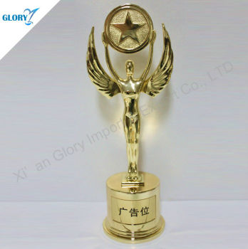 Champions leagues metal trophy