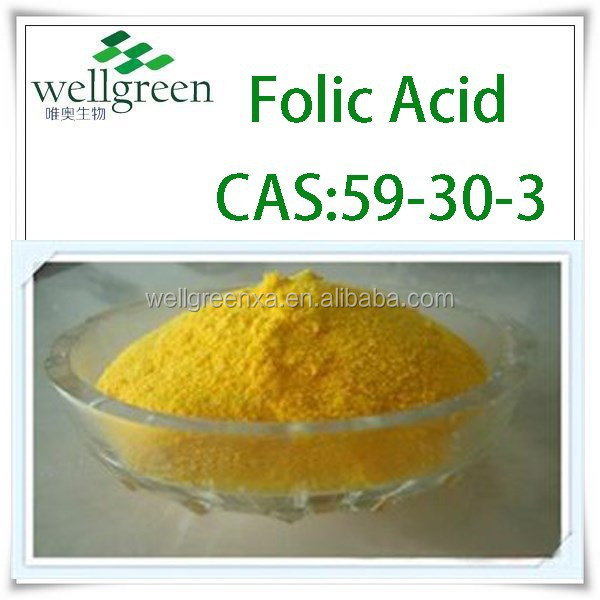 Large Stock High Quality BP USP Folic Acid With Factory Price