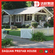 New style four season green prefab house house with sandwich wall panel building system