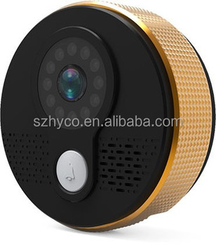 Support IOS and android wifi video door phone