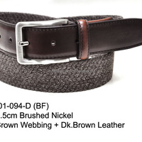 Men S Webbing Belt
