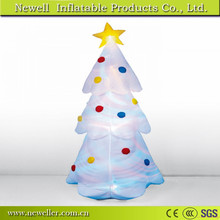 Great Quality christmas tree inflatable cartoon With OEM logo