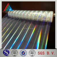 bopp hologram film roll holographic gift wrapping paper