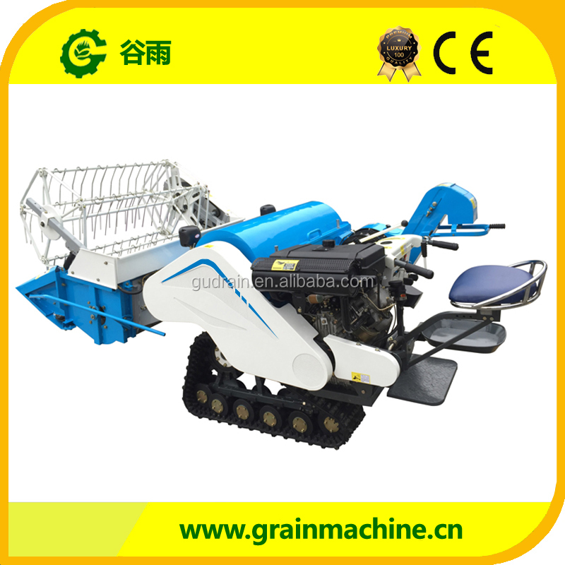 Economic high quality mini combined rice harvester