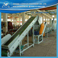Waste plastic recycling machine / plastic washing machine PE PP Bags