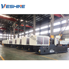 Plastic injection molding machine assembly