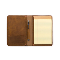 Customied Genuine Leather A5 Notebook Planner Diary leather Organizer Cover