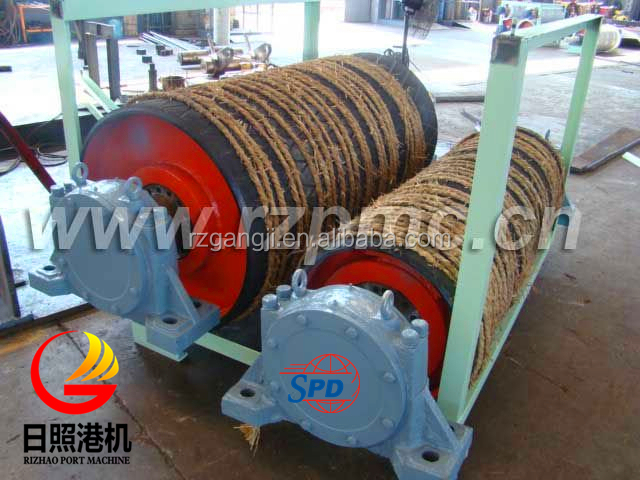 Mining industry conveyor drum roller pulley with high performence