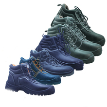 SRSAFETY New style high quality emboss cow split leather safety shoes sport work shoes office safety shoes