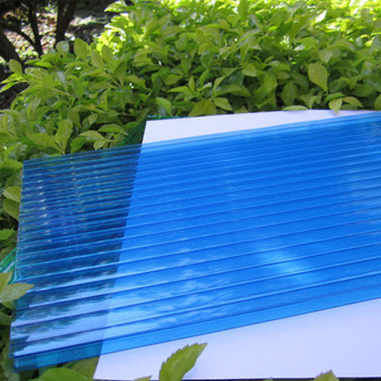 fire retardant 100% virgin pc roofing sheets for security & protection
