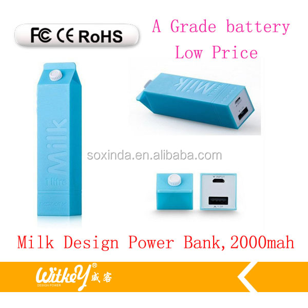 Portable, light and multi colour 2200mah power bank mobiles phone changer