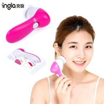 Multifunction Electric Face Facial Cleansing Brush Spa Skin Care Massage
