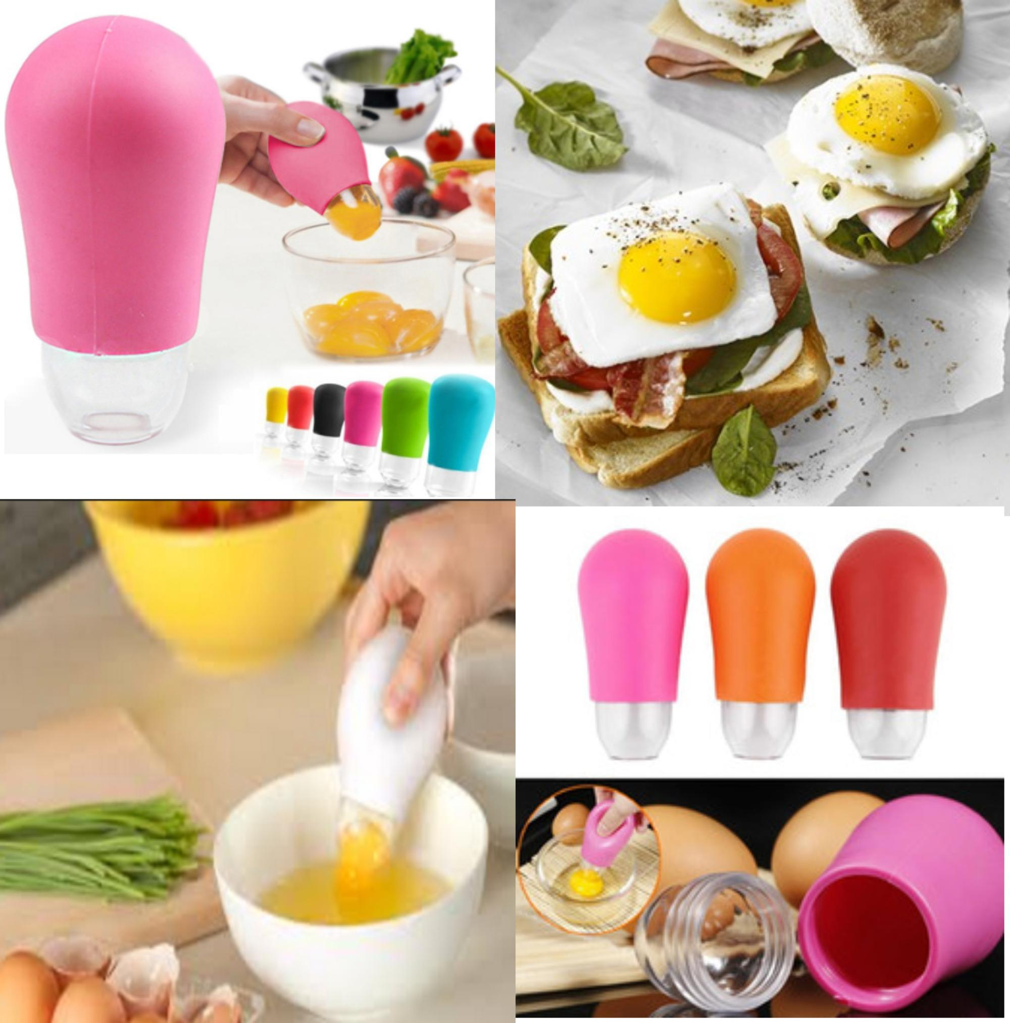 High Quality Best Seller Silicone Egg Yolk Remover Egg Yolk Separator