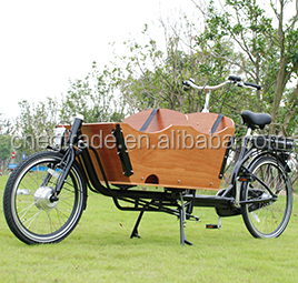 2016 Hot sale 2 wheel electric cargo bike/bicycle/dutch cargo bike for adult