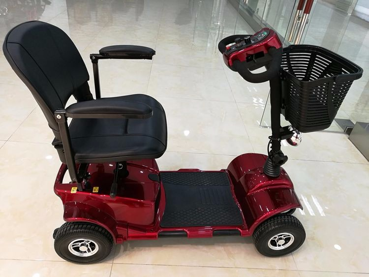 Battery Powered Motor Handicapped Mobility Big Wheel Electric Scooter