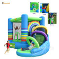 Happy Hop Hot Sale Rainbow Bouncing Castle-9313 Rainbow Bouncy Castle with Slide