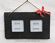 Factory Direct Price Hot selling Slate Hanging Fhoto Frame Rectanglar Shape