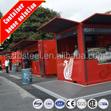 Modern container cafe /container house for sale