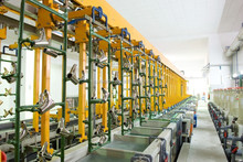 Semi-automatic Rack Nickel Chrome Zinc Plating Plant