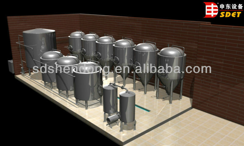 Beer Fermenter Tank(CE certificate),storage tank for beer brewing,1000l-3000l stainless steel tank