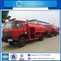 Specially designed and manufactured Off road 4x4 forest fire truck with 8000L water tank for sale adapting to all terrain