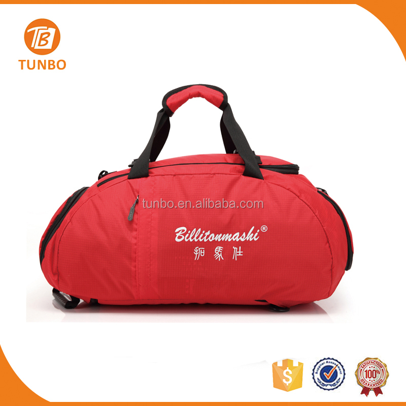 Wholesale custom duffle cotton drawstring outdoor gym shark bag