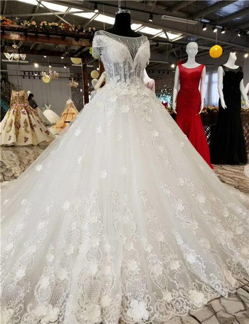 Dropshipping and OEM Service Supplied Ivory TOP Quality Wedding Dress