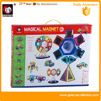 educational magical magnetic toy block set