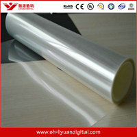 Dye & Pigment ink backlit film, transparent pvc rigid sheet