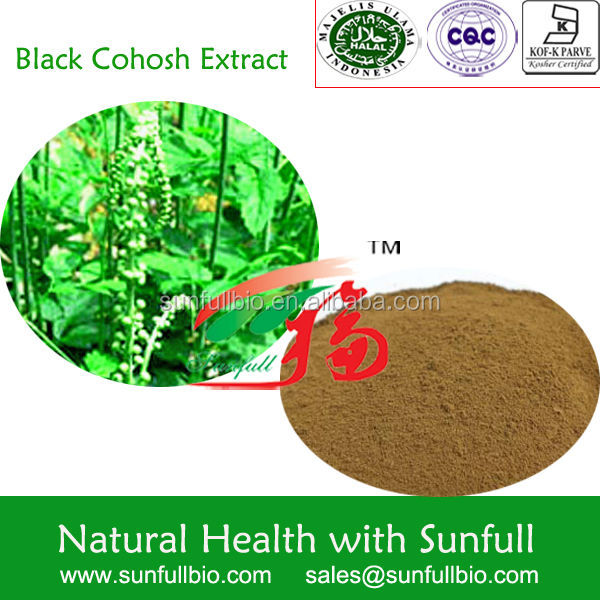 Black Cohosh Extract powder 2.5% Triterpene
