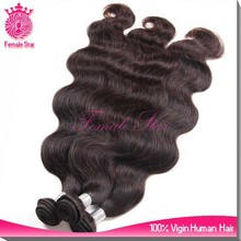 hot selling body wave raw virgin unprocessed human hair in thailand