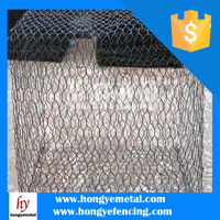 Anping Hexagonal Mesh Galvanized Gabion Box Price (20 Years Factory)