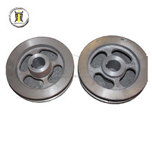 Custom agricultural small iron casting V belt pulley wheel