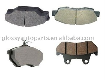 Brake pads for SUBARU SAMBAR 26290TA000
