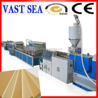 Qingdao upvc/pvc roof machine