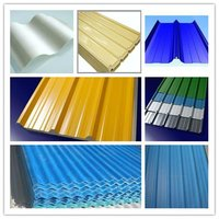 PPGI corrugated sheet for roof and wall